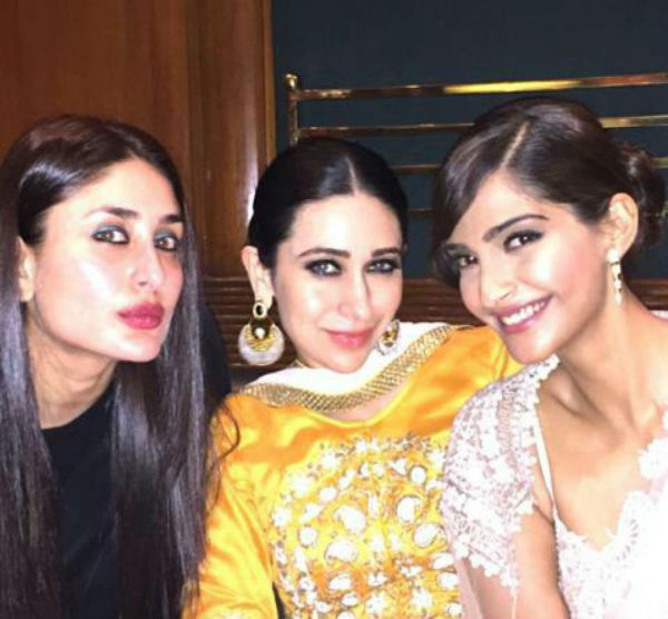 When Kareena Kapoor Khan, Sonam Kapoor and Karisma Kapoor ...