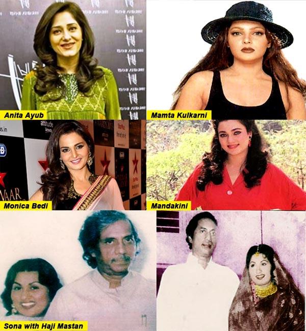 Mamta Kulkarni, Monica Bedi and Mandakini – actresses with an underworld connection