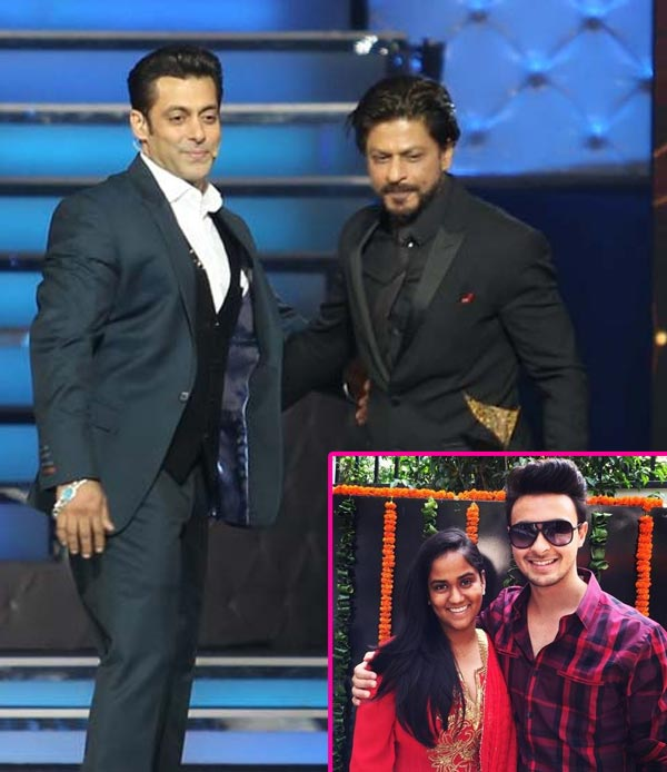 Salman Khan Invites Shah Rukh To His Sister Arpitas Wedding