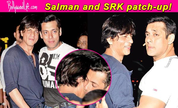 Heres How Salman Khan And Shah Rukh Patched Up On Arpita Khans Pre Wedding