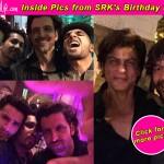 Shah Rukh Khan gets selfies with Hrithik Roshan, Mika Singh, Chunky Pandey during his birthday bash – View inside pics!