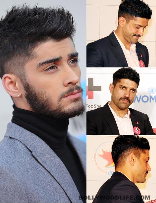 Is Farhan Akhtar Too Old To Copy 21 Year One Direction Singer Zayn Maliks