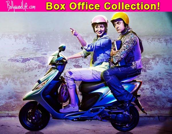 Box office update: After beating Ajay Devgn's Singham Returns, Aamir Khan's PK becomes fourth highest grosser of 2014!
