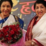 OMG: Lata Mangeshkar and Asha Bhosle reunite after 20 years!