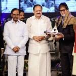 Amitabh Bachchan conferred ANR award!
