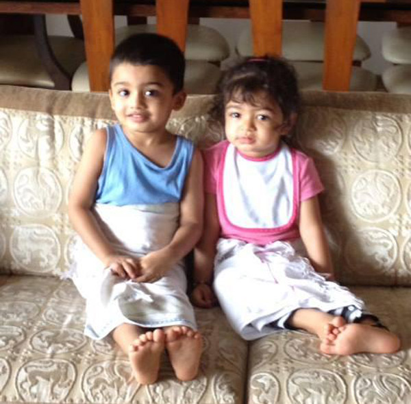 So cute! Aishwarya Rai Bachchan's daughter Aaradhya enjoys winters with cousin- View pic