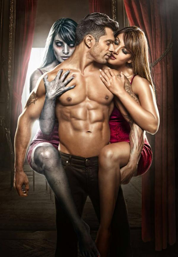 Alone first look: Bipasha Basu shows off her sexy and scary side along with Karan Singh Grover!