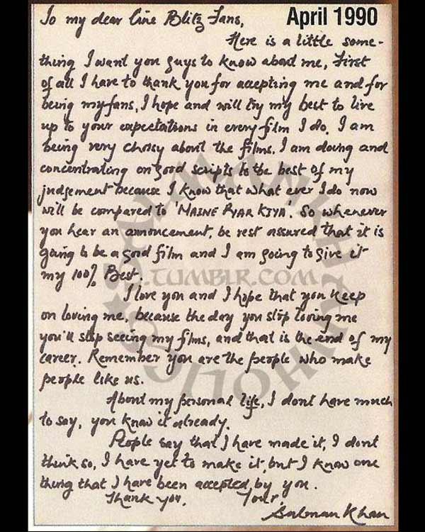 Saddest love letter ever written