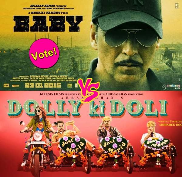Akshay Kumar's Baby or Sonam Kapoor's Dolly Ki Doli – which film will you watch on January 23, 2015? VOTE!