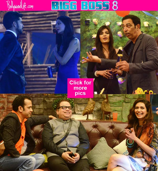 Bigg Boss 8: Gautam Gulati, Karishma Tanna, Pritam Singh party with Sambhavna Seth, RJ Malishka and others – view pics!