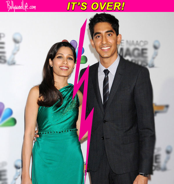 Is Siddhartha Mallya the reason behind Freida Pinto and Dev Patel's break up?