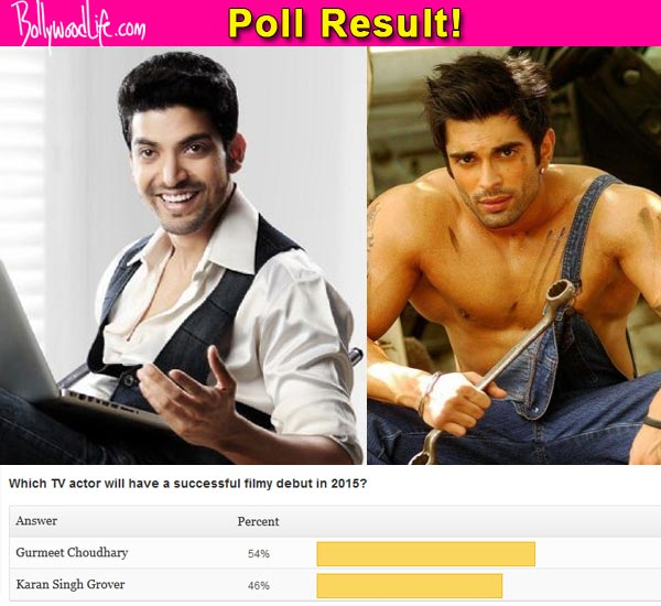 Gurmeet Choudhary will have a better career in films than Karan Singh Grover, predict fans!