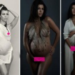 After Kim Kardashian, sister Kourtney Kardashian poses nude for a photoshoot!