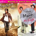 Movies to watch this week: Main Aur Mr.Riight and Lingaa