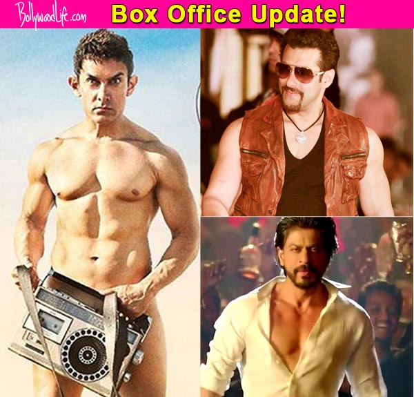 Aamir khan beats salman khan and shah rukh khan at the box office pk becomes the highest - Box office bollywood records ...