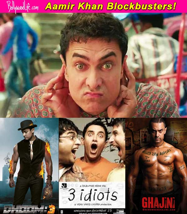 Dhoom 3 ghajini and 3 idiots aamir khan films that rewrote box office records - Indian movies box office records ...