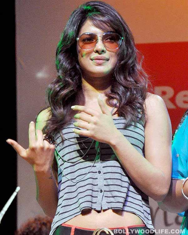 Priyanka Chopra: It's strange to walk in heels and ...