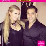 Exclusive: Here is why Paris Hilton met Salman Khan in India!