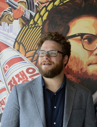Seth Rogen surprises fans during The Interview screening