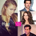 Here's how Salman Khan, Hrithik Roshan and Bipasha Basu bonded with Paris Hilton…
