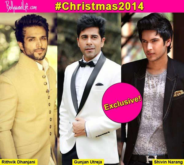 Christmas 2014: Shivin Narang, Gunjan Utreja, Rithvik Dhanjani plan gifts for their best buddies in tellyland