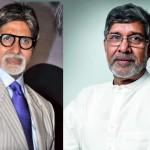 Amitabh Bachchan meets Nobel Prize winner Kailash Satyarthi