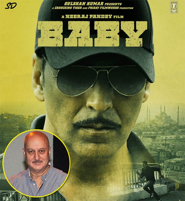 Anupam Kher: Baby is releasing at a perfect time as it's Republic Day and US President Barack Obama is visiting India