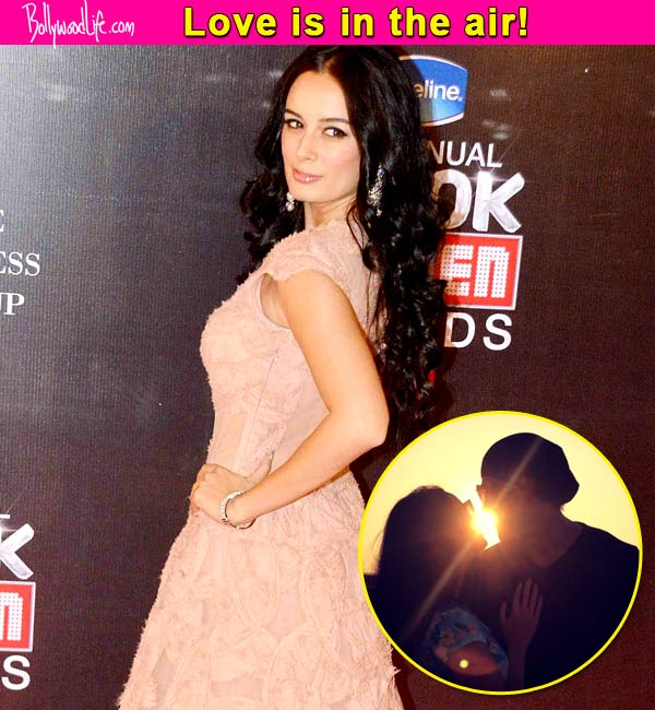 Is Evelyn Sharma in love?