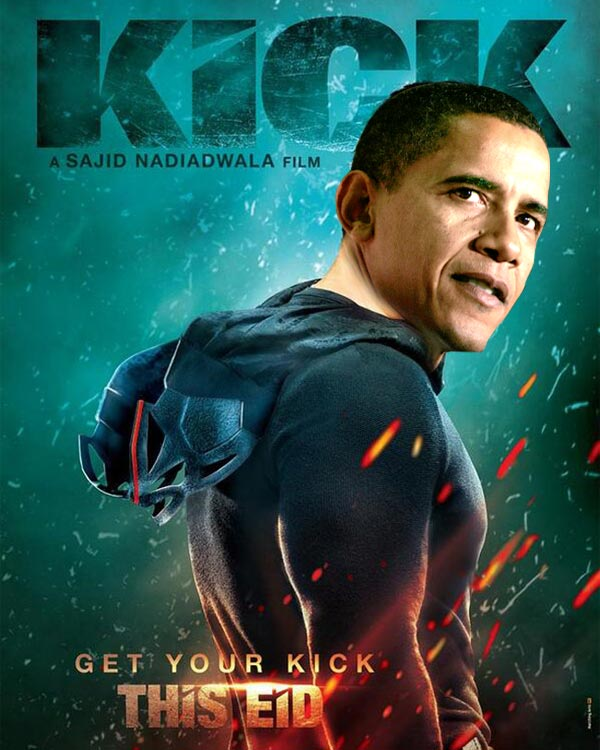 What if Barack Obama replaced Salman Khan in Kick and ...