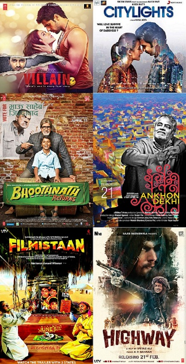 Life OK Screen Awards winners list: Ek Villain, Highway, Haider, Citylights, Bhoothnath Returns, Filmistaan and Ankhon Dekhi win big!