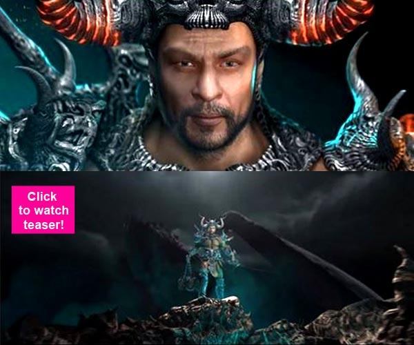 New Movie Trailer Avatar 2: Revealed: Shah Rukh Khan's Animated Avatar From Atharva