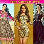 Telly Calendar 2015 Contest: Anita Hassanandani, Surbhi Jyoti, Krystle Dsouza give a striking pose