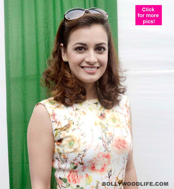 Dia Mirza supports the Rural is Cool initiative by taking part in Mumbai Marathon – view pics!