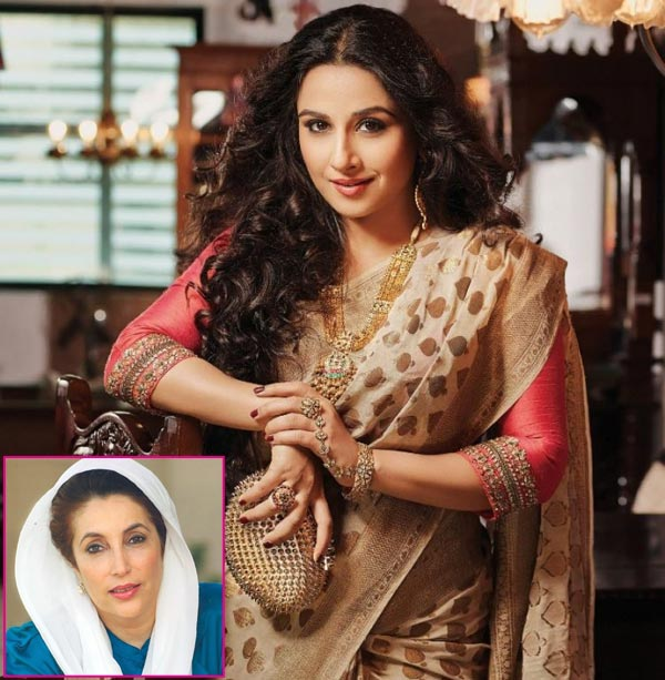 Vidya Balan tight lipped about Benazir Bhutto biopic