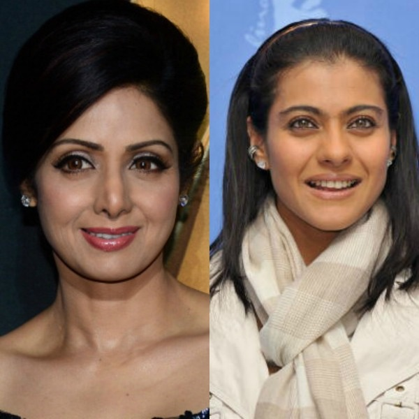 What is common between Kajol and Sridevi?