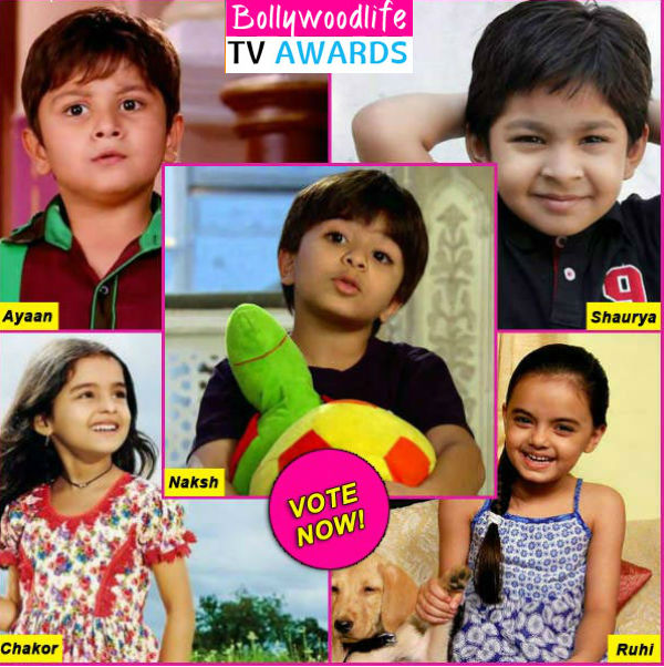 BollywoodLife TV Awards 2015: Yeh Hai Mohabbatein's Ruhi, Tumhari Pakhi's Ayaan or Udaan's Chakor – who is your favourite child artist on TV? Vote!