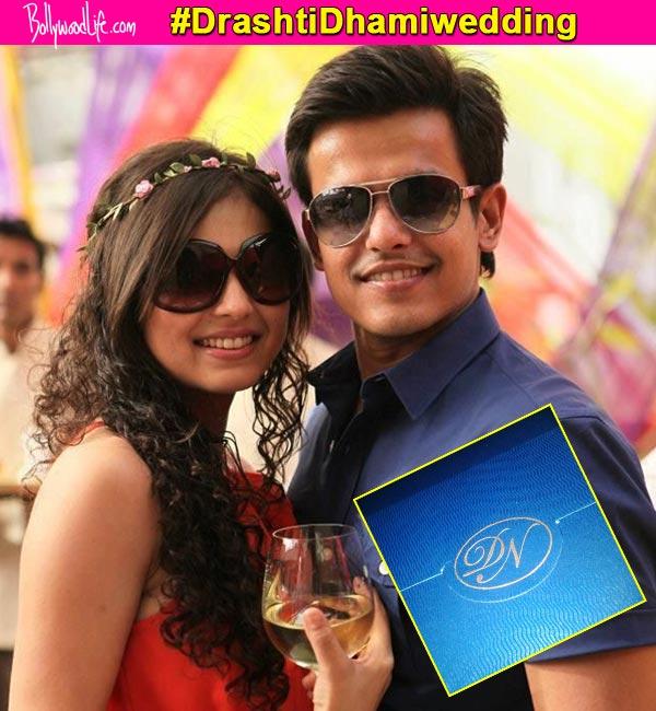 Revealed: Drashti Dhami and Neeraj Khemka's wedding card – view pic!