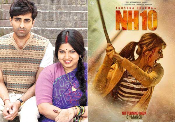 Dream run for 'dum laga ke haisha' in second week | entertainment.