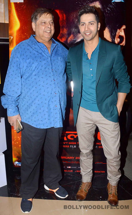 OMG: Varun Dhawan doesn't like the script of father David Dhawan's next film!
