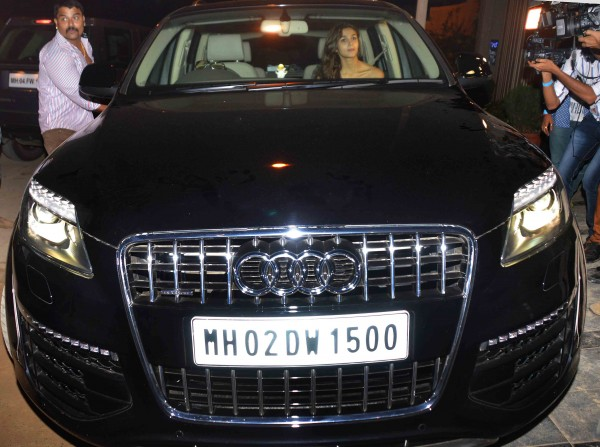 Alia Bhatt Matches Her New Car Number To Her Birthday View Pics - Audi car number