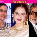 Rekha wears sindoor for Amitabh Bachchan, says Puneet Issar's wife!