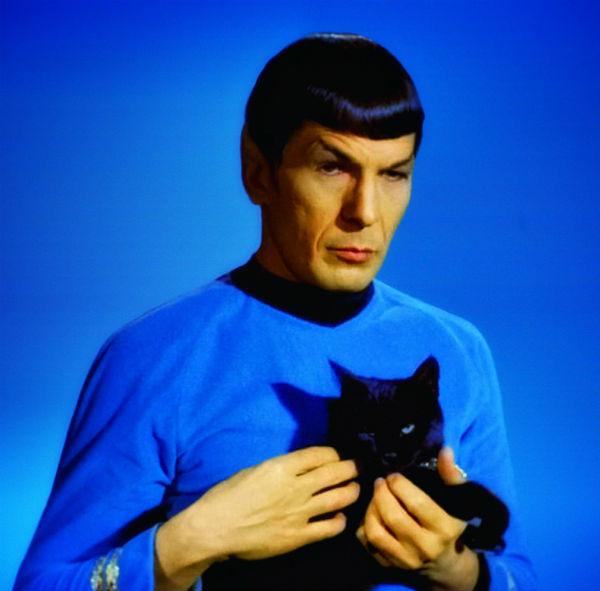 Leonard Nimoy Spock NASA pays a hea...