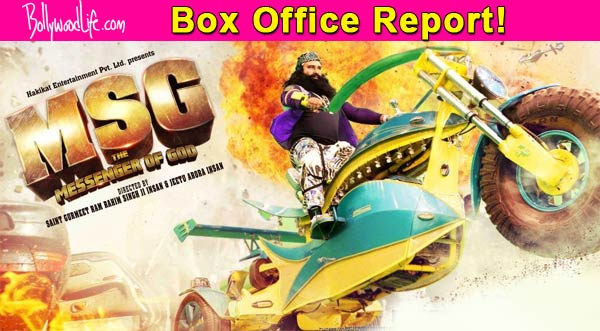 MSG: The Messenger box office report: Saint Gurmeet Ram Rahim Singh Ji Insan's film earns Rs 89.29 crore in six days!