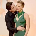 Oscars 2015: When John Travolta awkwardly kissed Scarlett Johansson!