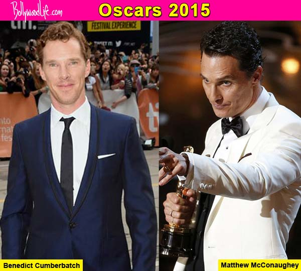 Oscars 2015: Benedict Cumberbatch is getting tips for Oscar speech from Matthew McConaughey!