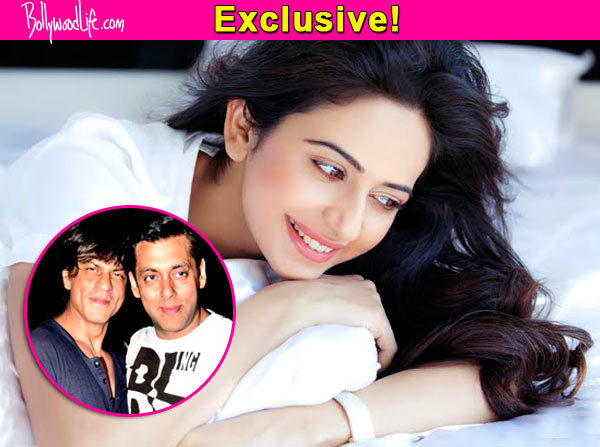 Rakul Preet Singh: Let me get a film with Shah Rukh Khan or Salman Khan, then I will think of quitting south films!