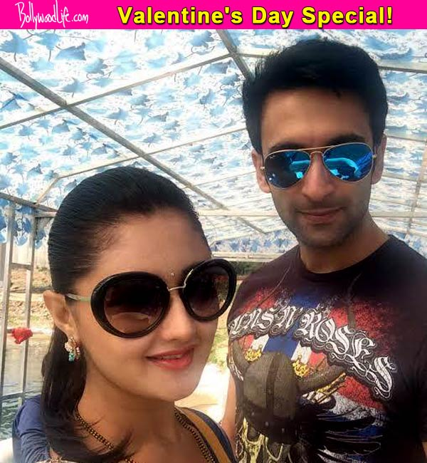 Rashami Desai and Nandish Sandhu start Valentine's Day celebration two days early