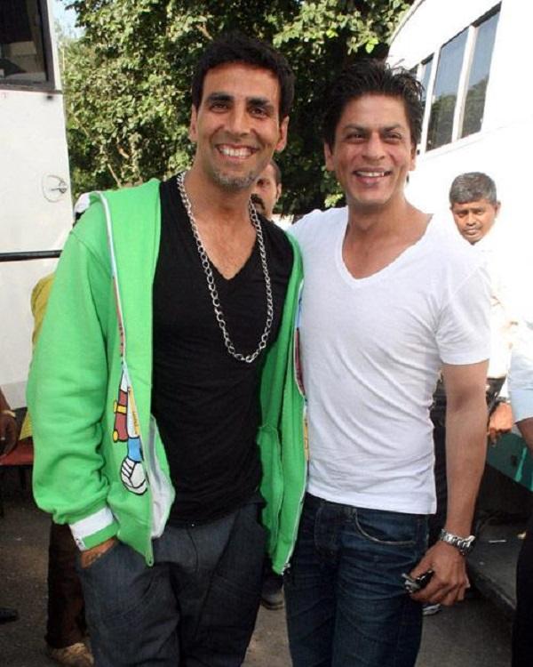 akshay kumar and shahrukh khan relationship help