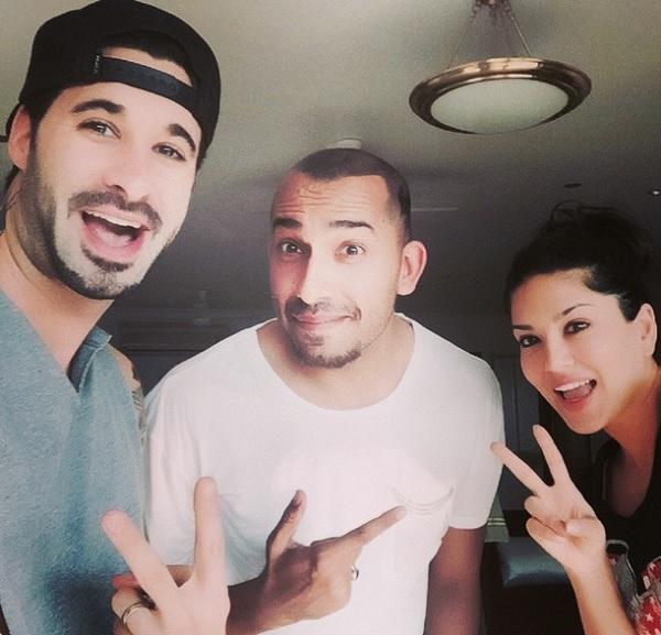 Post Bigg Boss Halla Bol, Ali Quli Mirza hangs out with Sunny Leone and Daniel Webber!