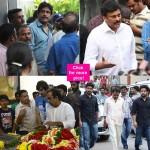 Daggubati Venkatesh, Nagarjuna, Chiranjeevi, Ravi Teja pay their last respect to late movie mogul D Ramanaidu